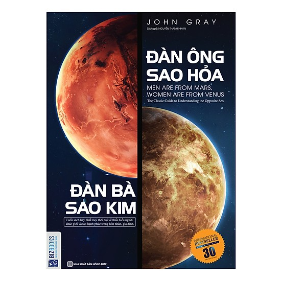 [Review - Trích dẫn] Đàn Ông Sao Hỏa Đàn Bà Sao Kim - John Gray