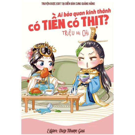 [Review - Ebook] Ai Bảo Quan Kinh Thành Có Tiền Có Thịt? - Triệu Hi Chi